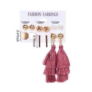 Jewelry - 6 Pack Statement Earrings